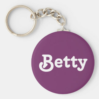 Key Chain Betty