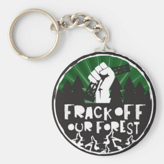Key Chain Frack Off Our Forest
