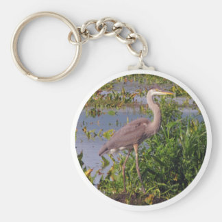 KEY CHAIN-Great Blue Heron Keychain