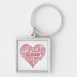 KEY CHAIN ***I LOVE YOU *** IN MANY LANGUAGES