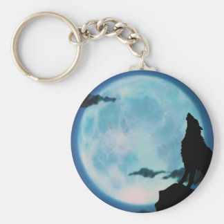 Key Chain: Lone Wolf Key Chain