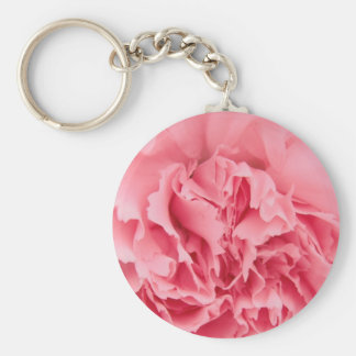 Key Chain Pink Carnation Close Up