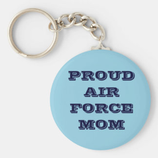 Key Chain Proud Air Force Mom