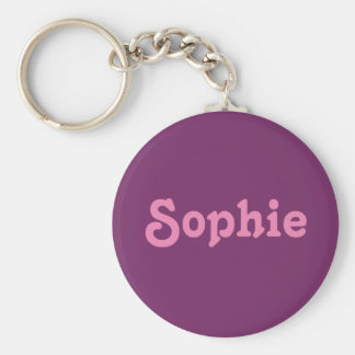 Key Chain Sophie
