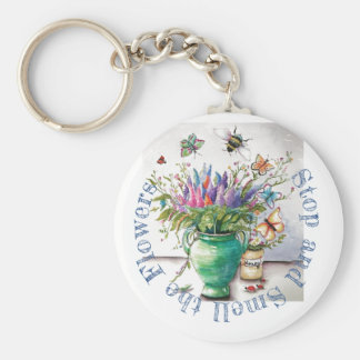 Key chain that reminds you to be mindful