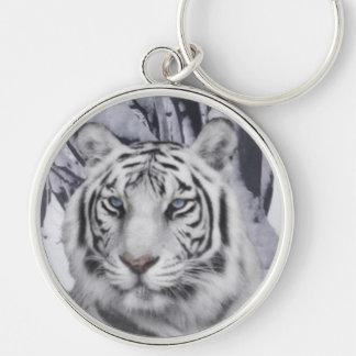Key Chain: White Tiger Key Chain