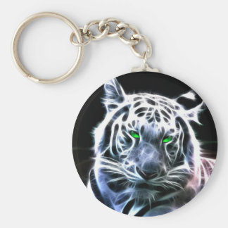 Key Chain: white Tiger Key Chain