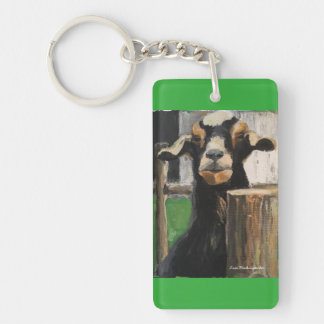 Key chain with racing goat customized