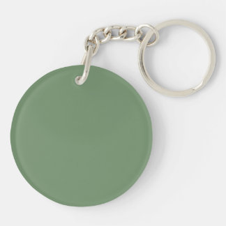 Key Chain with Sage Green Background