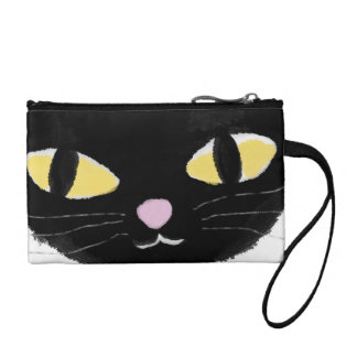 Key Coin Clutch with Omy cat's eyes Coin Wallets