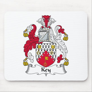 Key Family Crest Mouse Pad