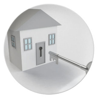 Key Home, Real Estate Agent, Selling Plate