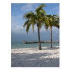 Key Largo Florida beach scene Postcard