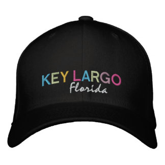 Key Largo Florida MultiColor Hat