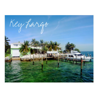 Key Largo, Florida, U.S.A. Postcard