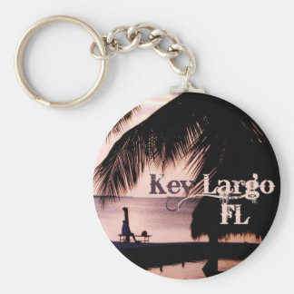 Key Largo Sunset Keychain