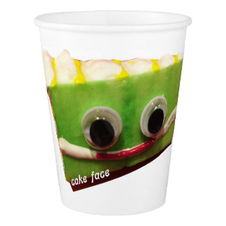 Key Lime Cake Face Paper Cups Paper Cup