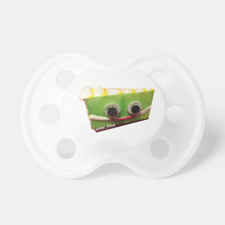 key lime cake face w logo baby pacifier
