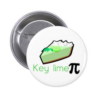 Key Lime Pie 2 Inch Round Button