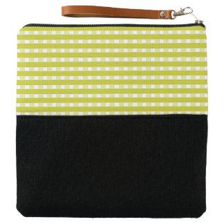 Key-Lime-Plaid-Checks-Multi-Colors Clutch