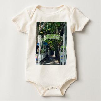 Key Lime Square Baby Bodysuit