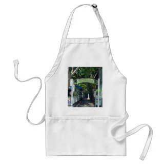 Key Lime Square Standard Apron