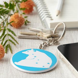 key ring Great Bear blue target