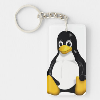 Key ring of Linux/TUX