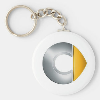 Key ring Smart Logo Basic Round Button Keychain