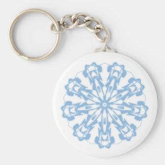 Key-ring Softnesses Pastel Fractal Mandala 2 Keychain