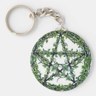 Key Rings:  Pentacle Keychain