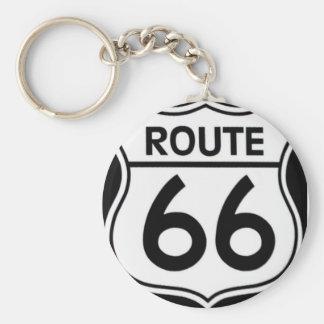 """Key rings """"ROUTE 66 """""""