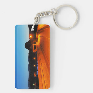 Key supporter Edersee Double-Sided Rectangular Acrylic Keychain