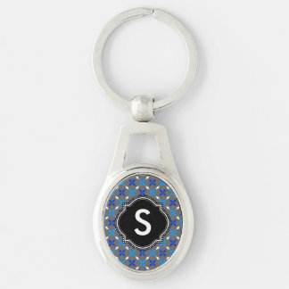 Key supporter Monogram Keychain