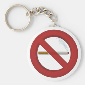 Key supporter nonsmoker keychain