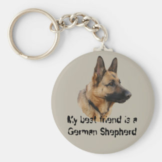 Key supporter shepherd dog 01 keychain