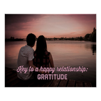 Key To A Happy Relatonship Beautiful Poster
