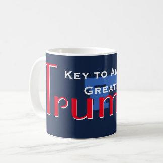 Key to American Greatness Coffee Mug