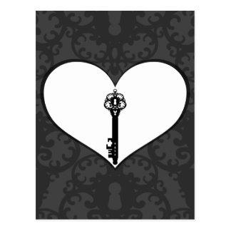 Key to Love III Postcard
