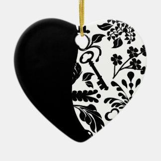 Key to My Heart/ Anniversary Ceramic Ornament