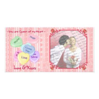 Key to My Heart Customized Photo Card