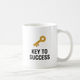 Key to Success Classic White Coffee Mug