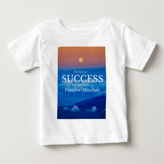 Key to Success Inspirational Quote Baby T-Shirt