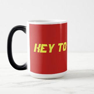 Key to the Brick mug