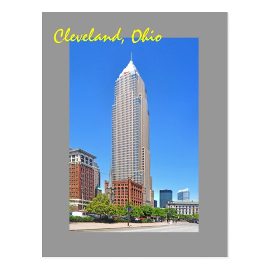 Key Tower, Cleveland, Ohio, U.S.A. Postcard