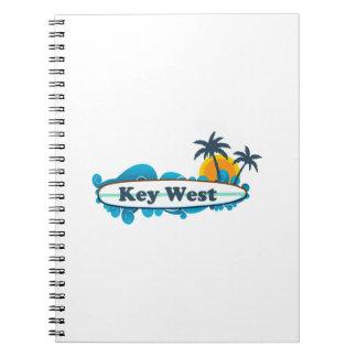 Key West (12) Spiral Notebook