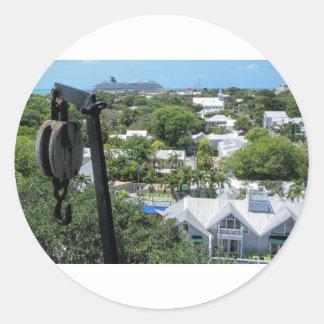 Key West 2016 (203) Classic Round Sticker