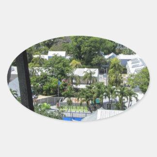 Key West 2016 (203) Oval Sticker