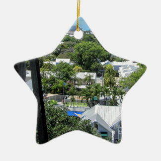 Key West 2016 Ceramic Star Ornament