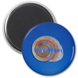 Key West 2 Inch Round Magnet
